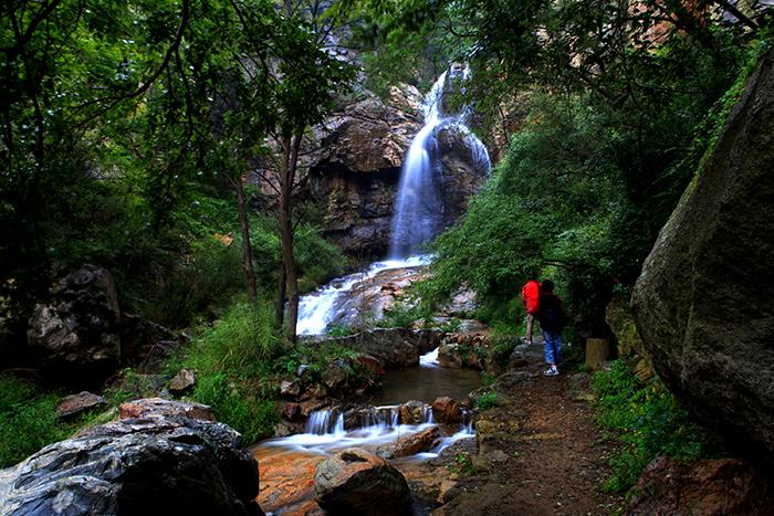 枣树峪瀑布 - 鲁山国家森林公园官方网站|淄博鲁山|4a